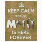 Keep Calm...McFly's here Forever tshirt/hoody/stickers by LittleMermaid87