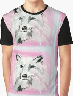 White Wolf - Animal Art by Valentina Miletic Graphic T-Shirt
