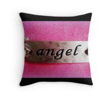 Angel Bracelet Throw Pillow