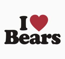 I Love Bears by iheart