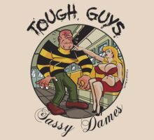 Tough Guys & Sassy Dames: Powerhouse & Fupa Von Foof by JoesGiantRobots