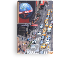 hustle & bustle Canvas Print