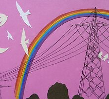 rainbow birds by Hannah Clair Phillips