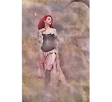 The Way She Moves In The Moon Light Photographic Print