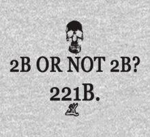 2B Or Not 2B? 221B. by ShubhangiK