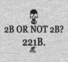 2B Or Not 2B? 221B. by ShubhangiK