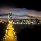 The Best Drive In - San Francisco Skyline by Toby Harriman