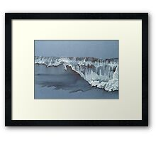wavelet close up  Framed Print