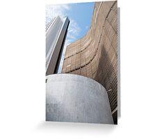 Copan Building in sao paulo Greeting Card