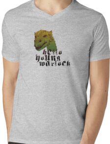 Hello ♥ Mens V-Neck T-Shirt