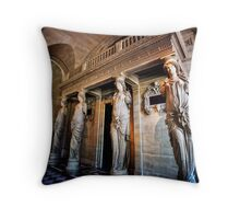 Paris 509 Throw Pillow