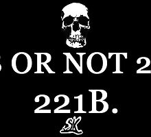 2B OR NOT 2B? 221B by ShubhangiK