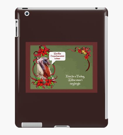Woo Hoo - I've Been Invited to Dinner iPad Case/Skin