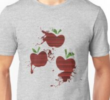 Apple Jack Cutie Mark Grain & Splatter Unisex T-Shirt