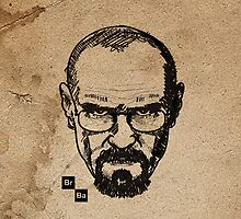 Breaking bad sketch by Mark Walker