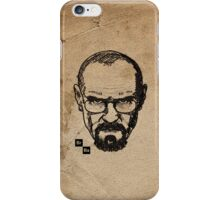 Breaking bad sketch iPhone Case/Skin