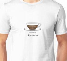 Coffee Addict, Ristretto, no background Unisex T-Shirt