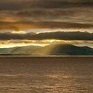 Criffel Rays by Brian Kerr