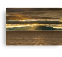 Criffel Rays Canvas Print