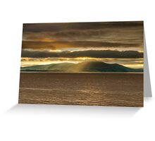 Criffel Rays Greeting Card