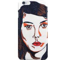 Aubrey Plaza/April Ludgate Portrait iPhone Case/Skin