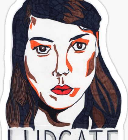 Aubrey Plaza/April Ludgate Portrait Sticker
