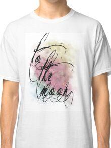 sunset nebula Classic T-Shirt