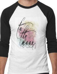 sunset nebula Men's Baseball ¾ T-Shirt