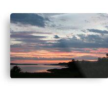 Sunset over Trawbreaga Bay Metal Print