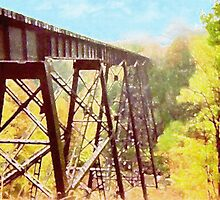 Train Trestle by Phil Perkins