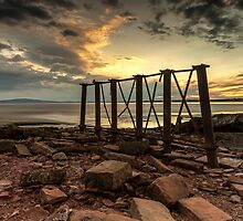 Bowness Viaduct Sunset by Brian Kerr