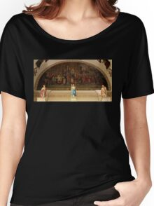 St. Louis Cathedral's Artwork Over The Altar In Nola Women's Relaxed Fit T-Shirt