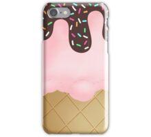 Strawberry Ice Cream sprinkles iPhone Case/Skin