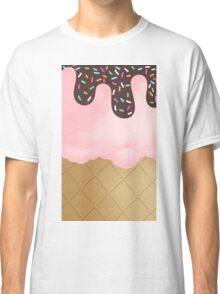 Strawberry Ice Cream sprinkles Classic T-Shirt