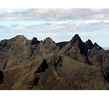 The Mighty Black Cuillin - Isle of Skye Photographic Print