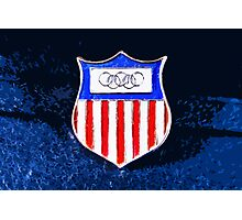 Olympic crest Photographic Print