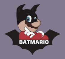BATMARIO - Batman Mario Mashup Kids Clothes