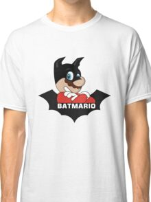 BATMARIO - Batman Mario Mashup Classic T-Shirt