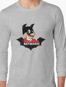 BATMARIO - Batman Mario Mashup Long Sleeve T-Shirt