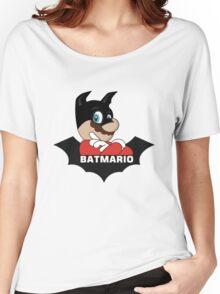 BATMARIO - Batman Mario Mashup Women's Relaxed Fit T-Shirt