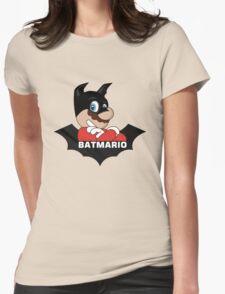 BATMARIO - Batman Mario Mashup Womens Fitted T-Shirt