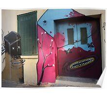 Door in East Village 2 Poster