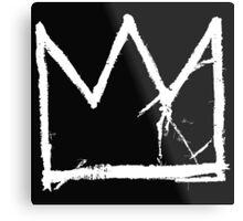 Basquiat King Crown Metal Print