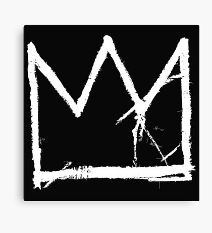 Basquiat King Crown Canvas Print