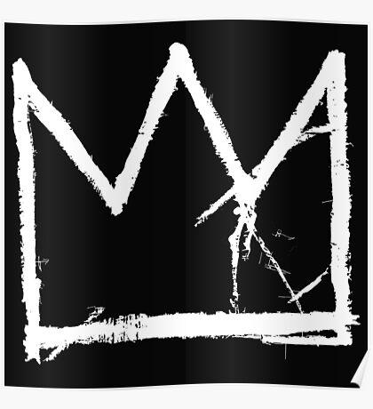 Basquiat King Crown Poster