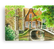 DELFT IN THE NETHERLANDS Canvas Print