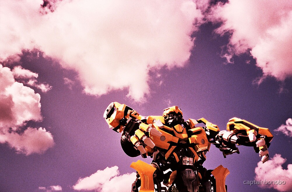 robots in the skies by captainbonobo