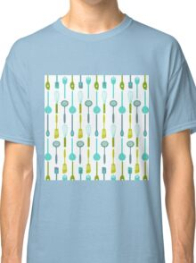 AFE Kitchen Utensils Pattern Classic T-Shirt