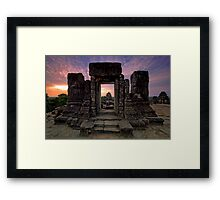 Phnom Bakheng, Hill Top Temple, Cambodia Framed Print