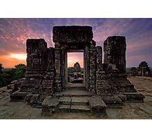 Phnom Bakheng, Hill Top Temple, Cambodia Photographic Print